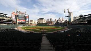 Comerica Park Tigers Baseball