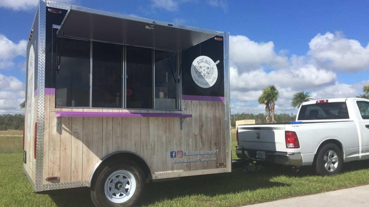 New vegan food truck sells smoothie bowls