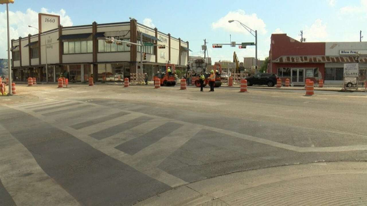 Businesses in Six Points area say construction has brought down business
