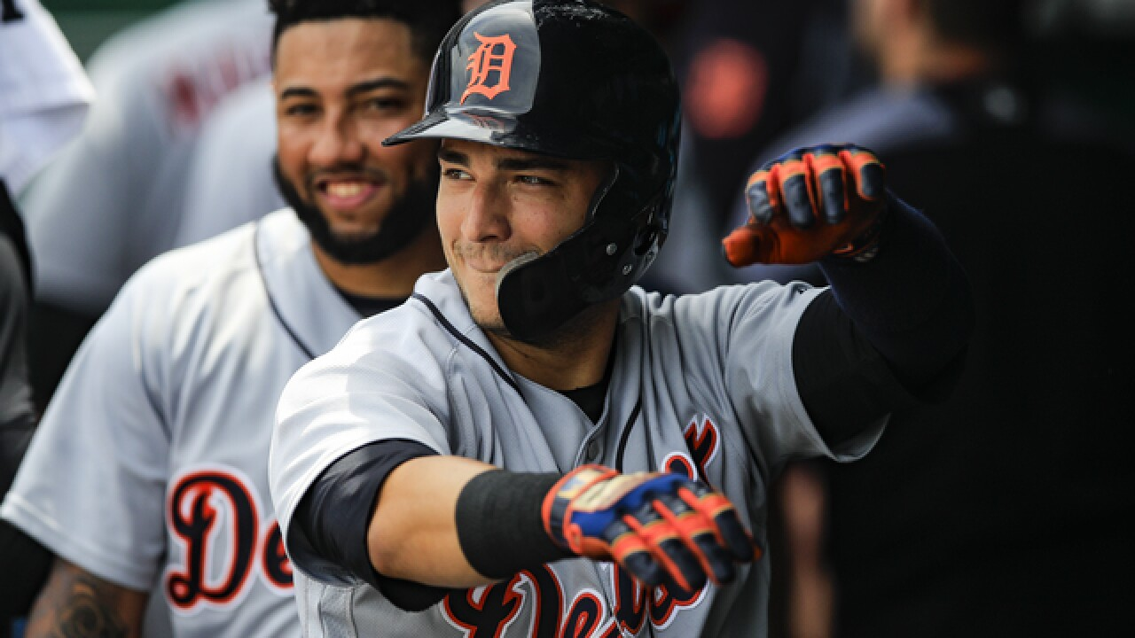 Iglesias homers as Tigers beat Royals for first series win since June