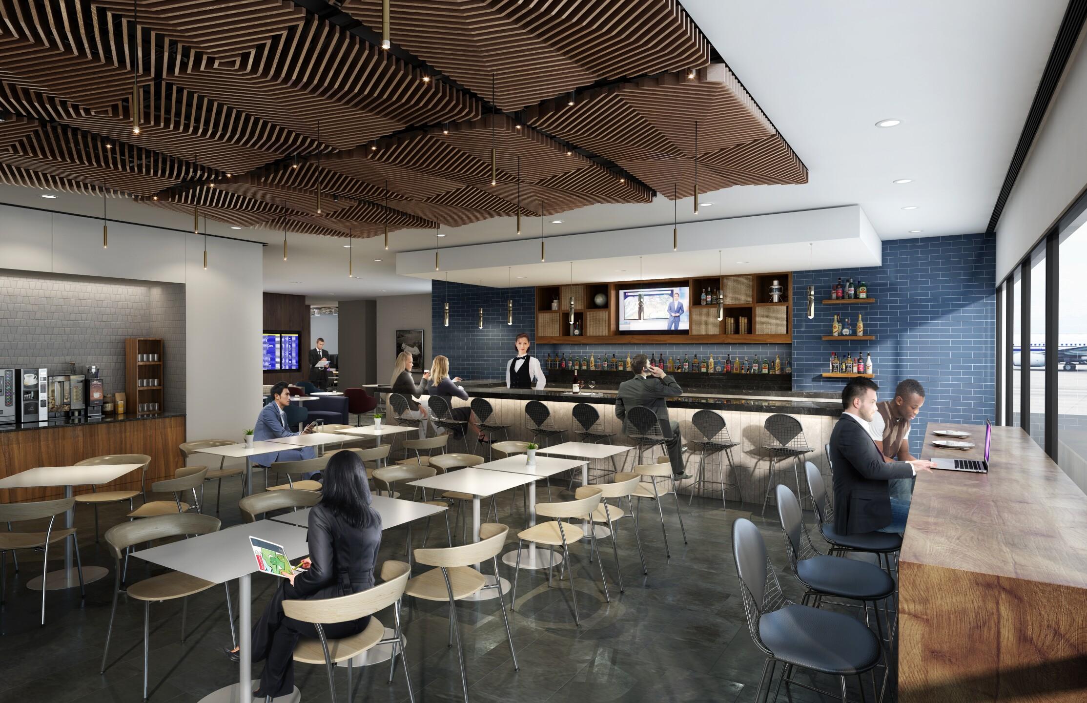 Centurion Lounge Phoenix Sky Harbor