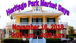 Support local at the Heritage Park Market Days this Saturday