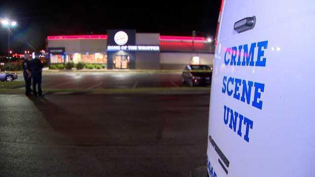 Photos: Masked Robber Shot, Killed At Burger King