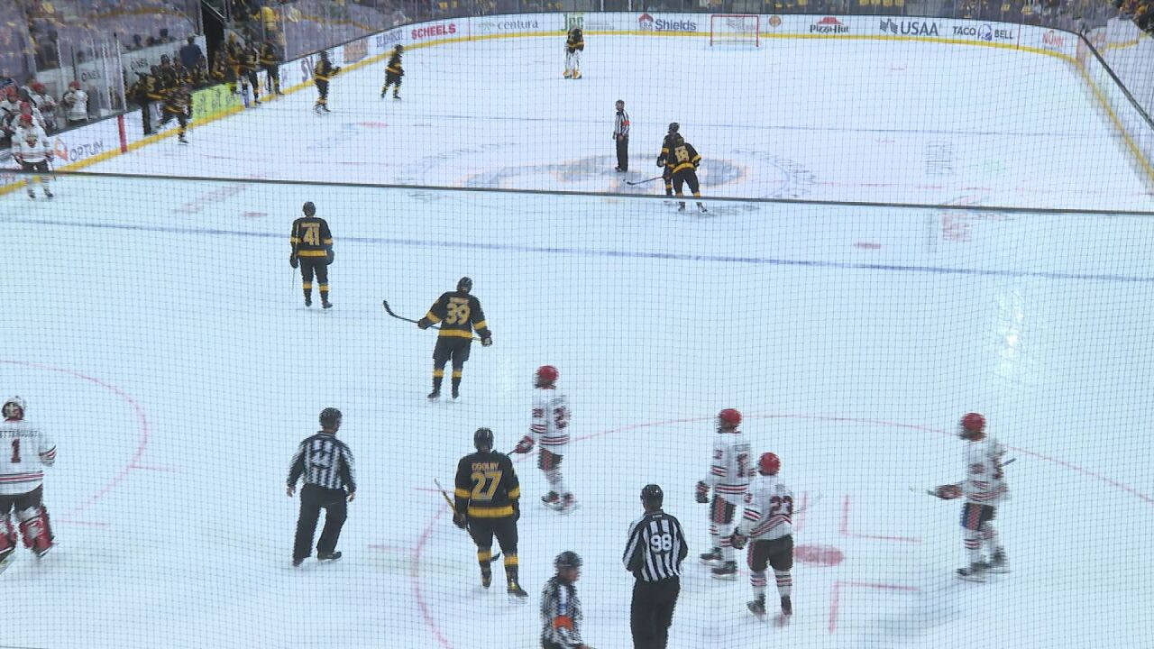 Colorado College take St. Lawrence to Overtime