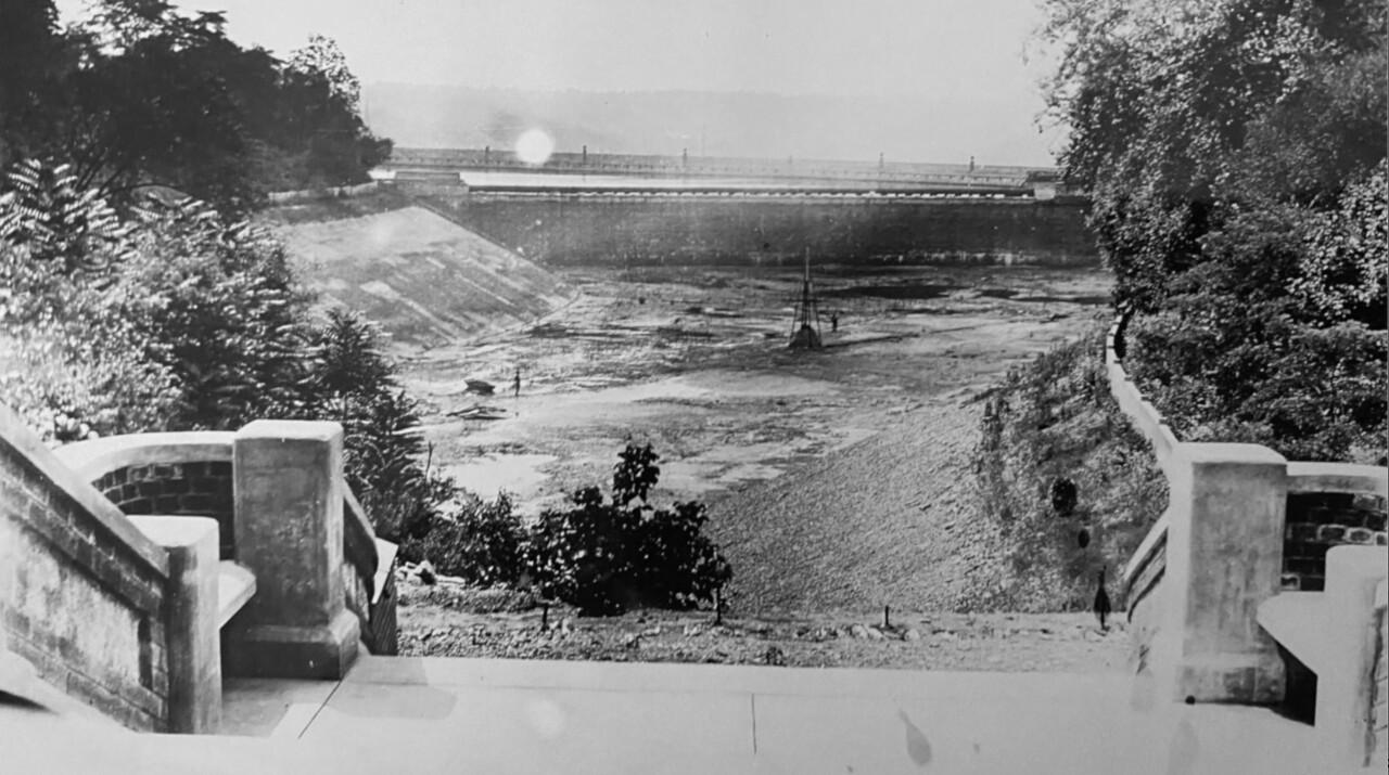 Eden park before 1965