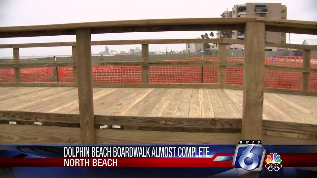 Dolphin Beach Boardwalk