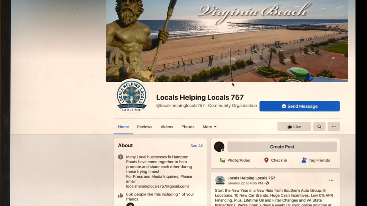 Locals Helping Locals 757 Facebook page.PNG