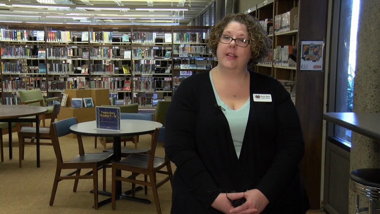 Lompoc librarian Sarah Blyel