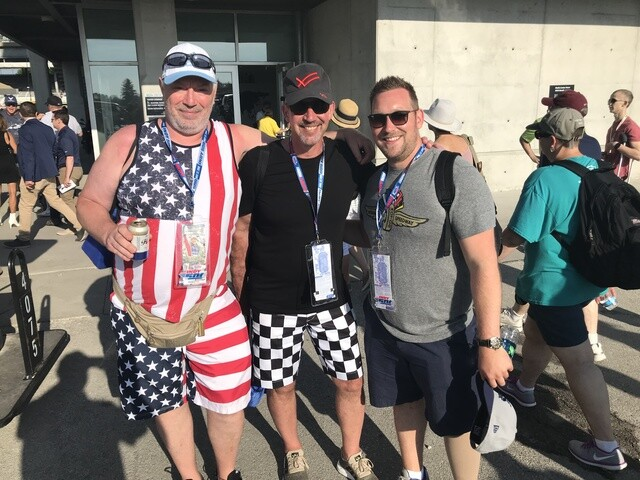 INDY 500 PICS: Wearing the red, white and blue