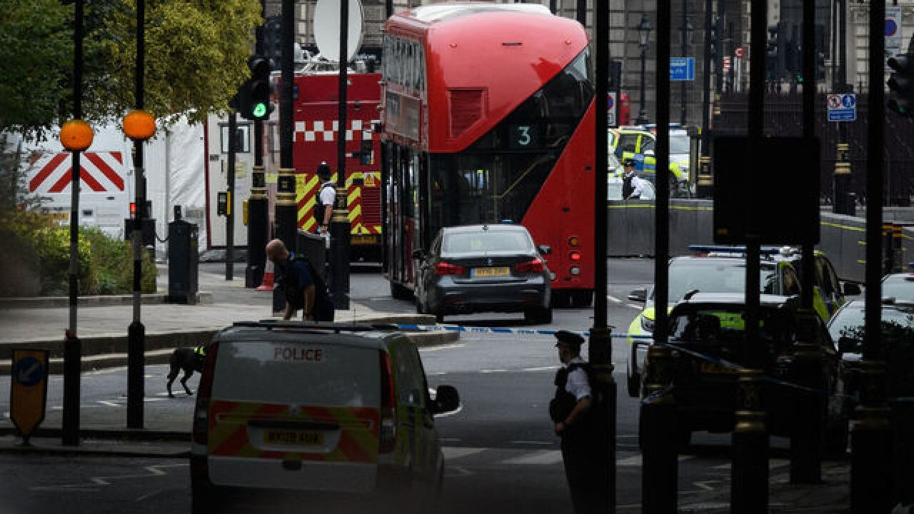 London police treat crash outside of Parliament as terrorist incident