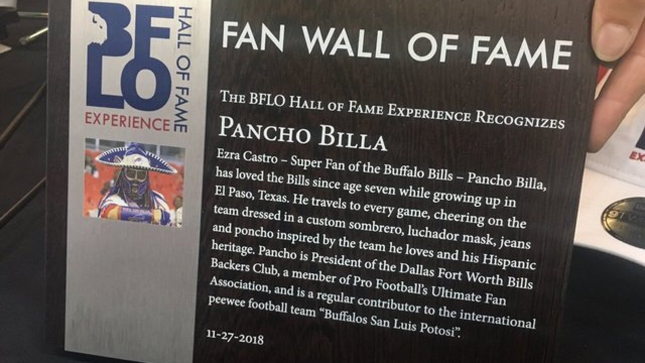 Pancho Billa to be immortalized on wall of fame