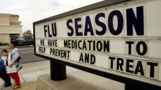 Each US city has its own distinct pattern of flu spread