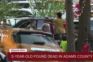 Body of missing Adams Co. 5-year-old found in water