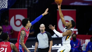 Utah Jazz vs. Philadelphia 76ers