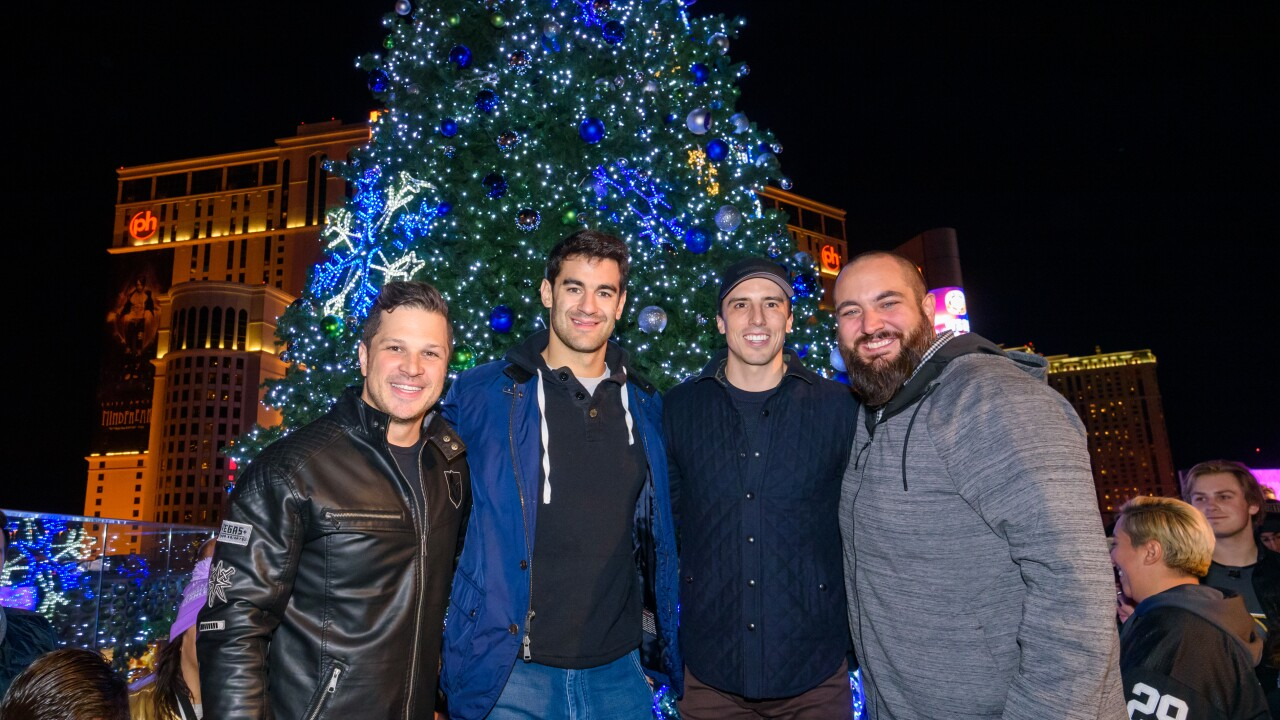 Cosmopolitan Tree Lighting Ceremony_Mark Shunock_Max Pacioretty_Marc-Andre Fleury_Big D_photo credit Pat Gray 2.jpg