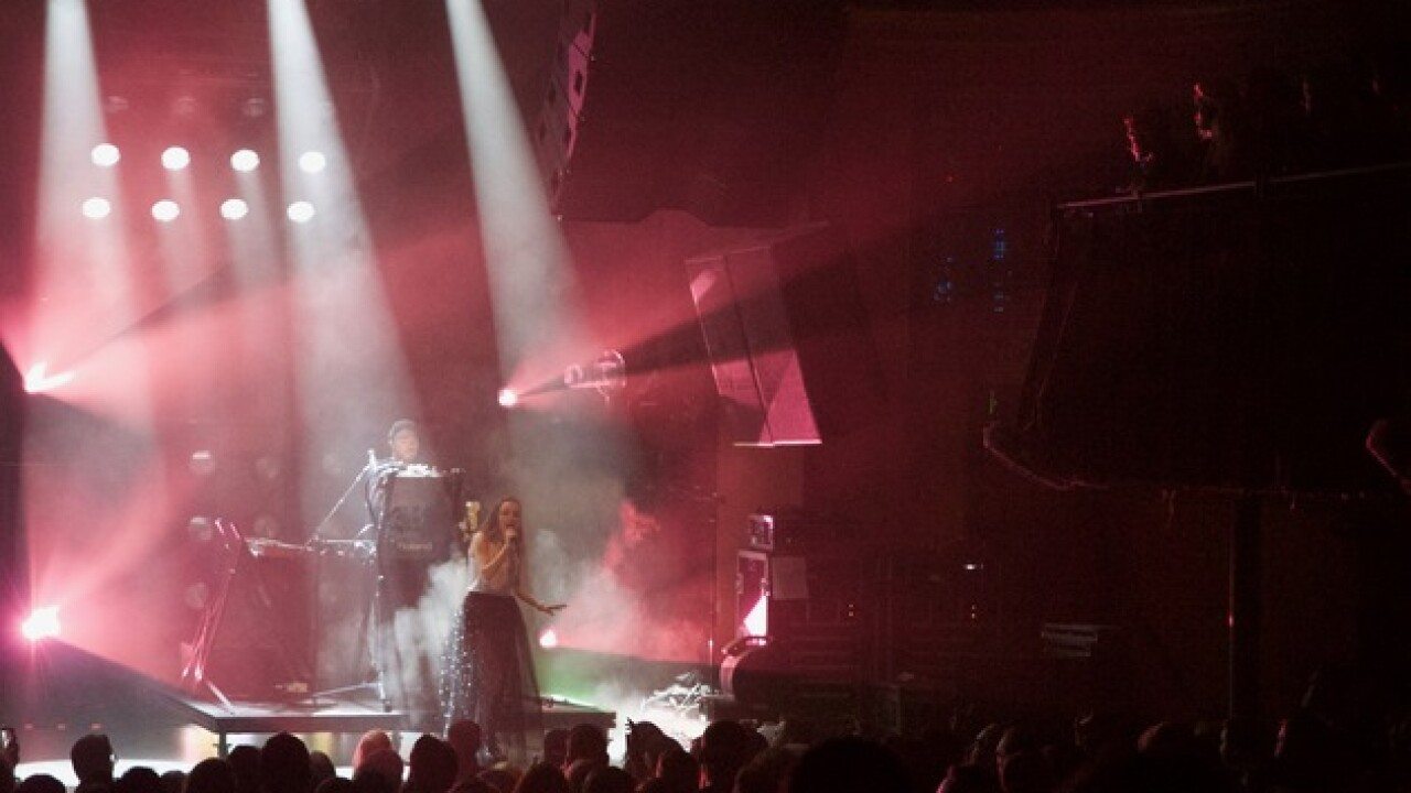Scottish band Chvrches electrifies Denver crowd