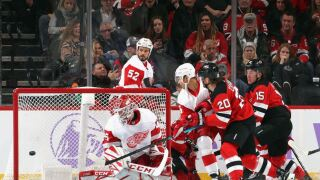 Butcher, Coleman help Devils past Red Wings, 5-1