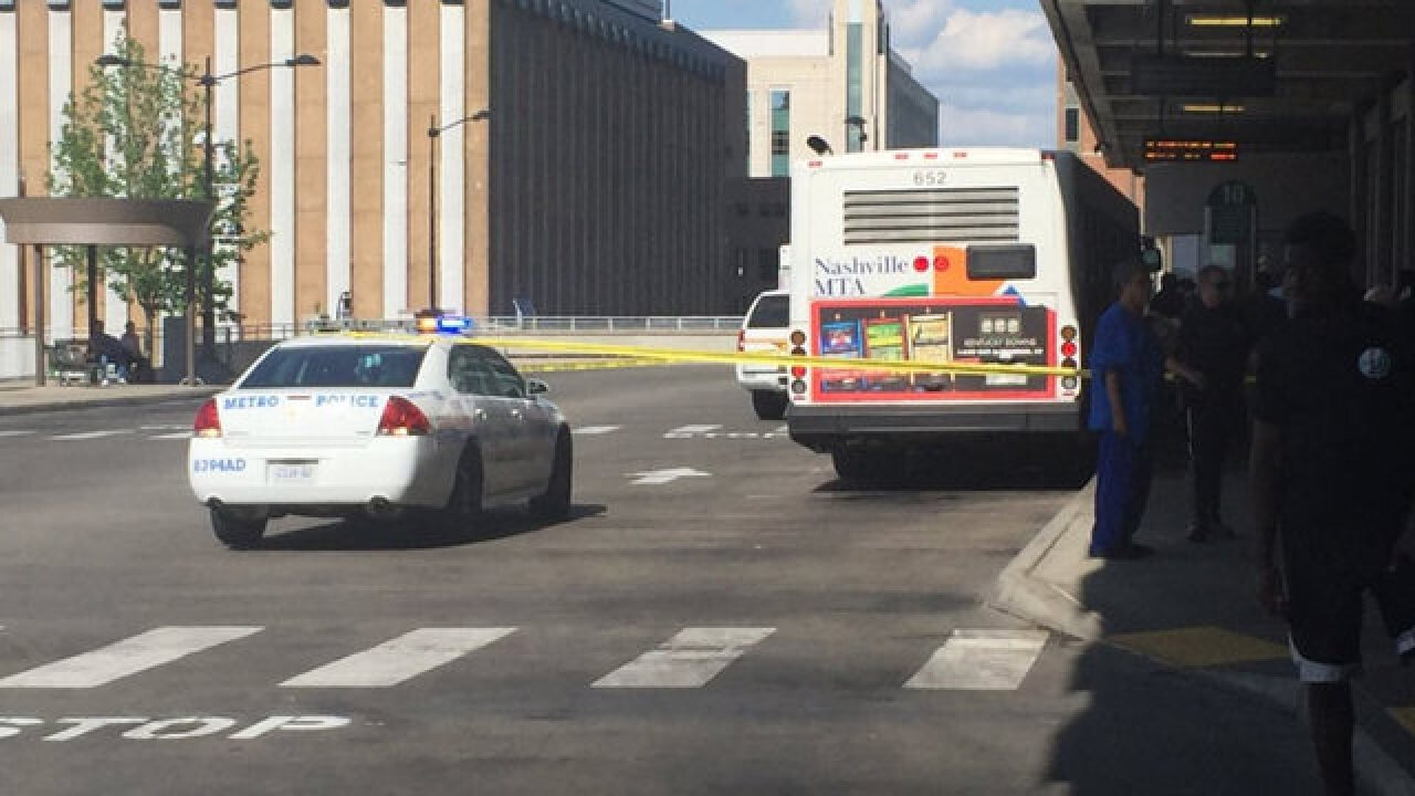 4 Injured in Nashville bus station shooting