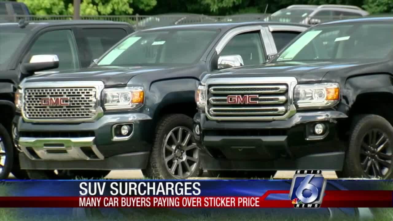 Steep SUV prices