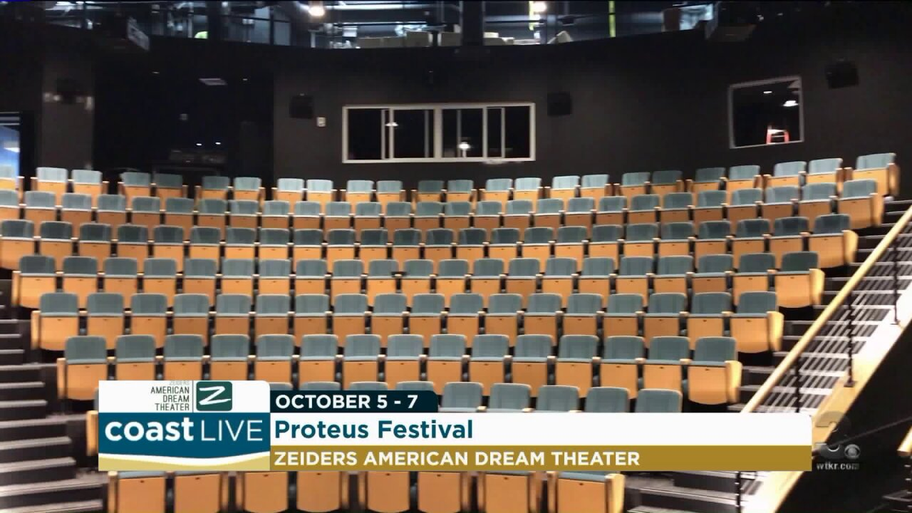 Previewing Proteus and the new Zeiders American Dream Theater on CoastLive