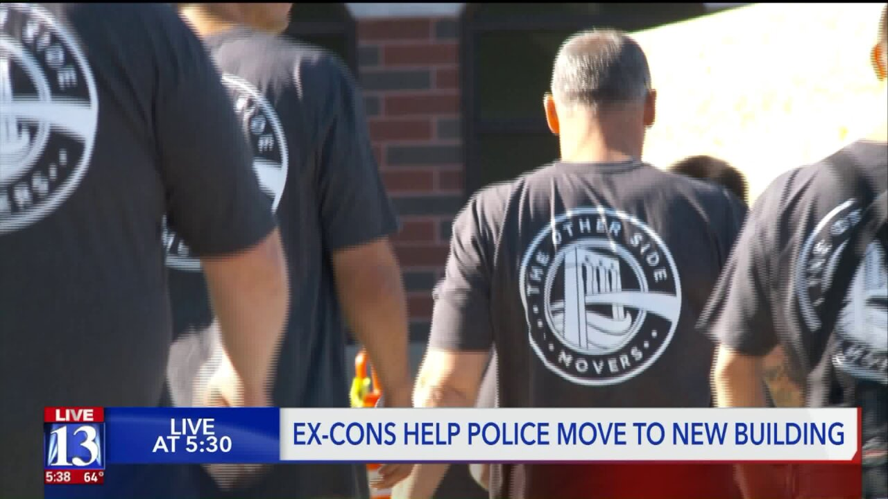 Former inmates help Pleasant Grove Police move into their newbuilding