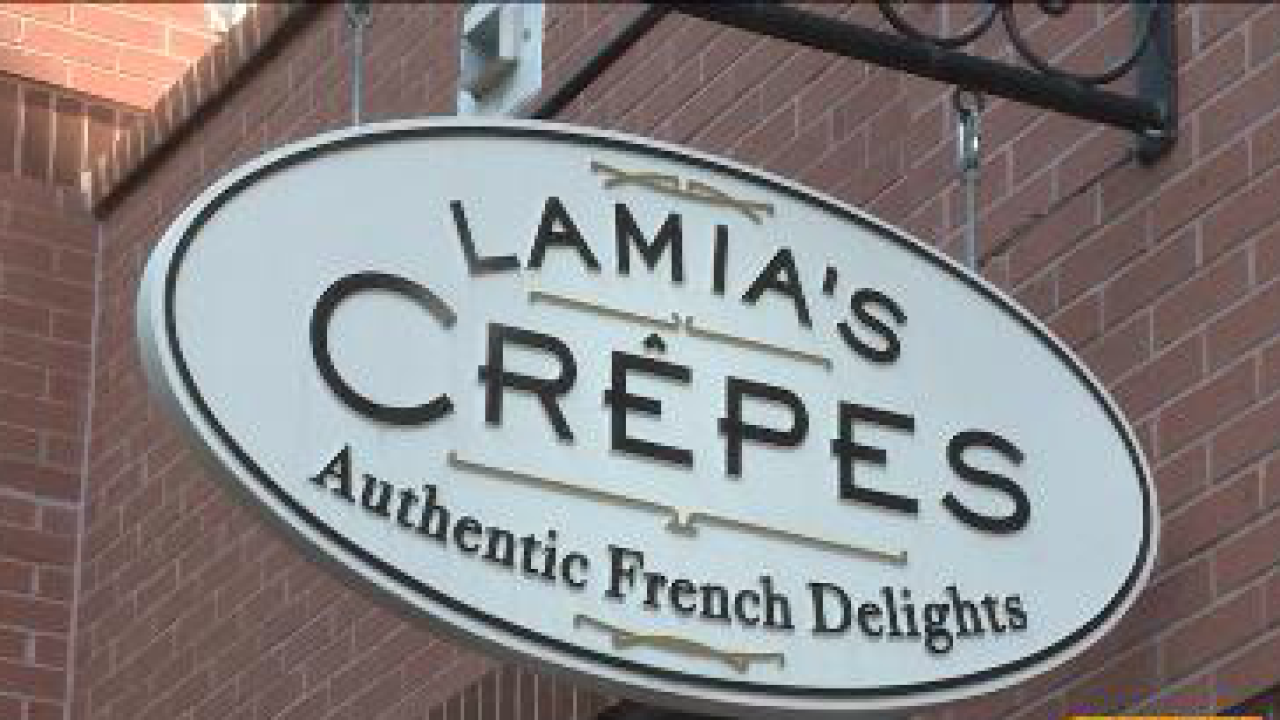 Lamia's Crepes: A taste of France in Norfolk