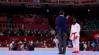 Iran's Ganjzadeh awarded gold as opponent disqualified