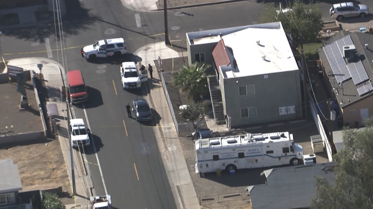 Police situation 9th Street and Roosevelt