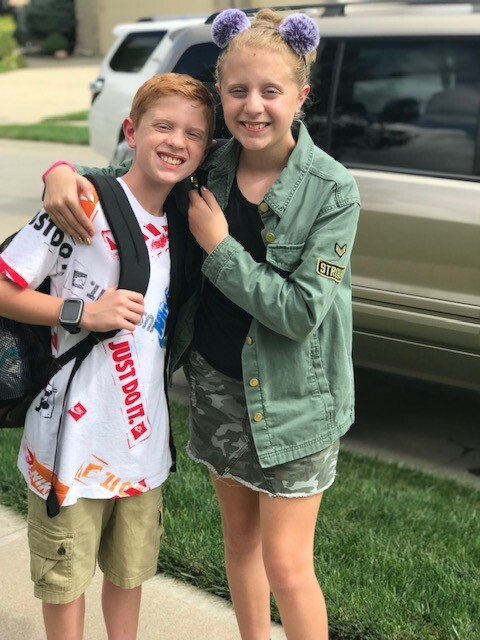 Hailey and Brody Linnell - Age 10, Grade 5 Black Elk Elementary MPS