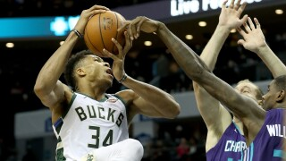 Milwaukee Bucks v Charlotte Hornets