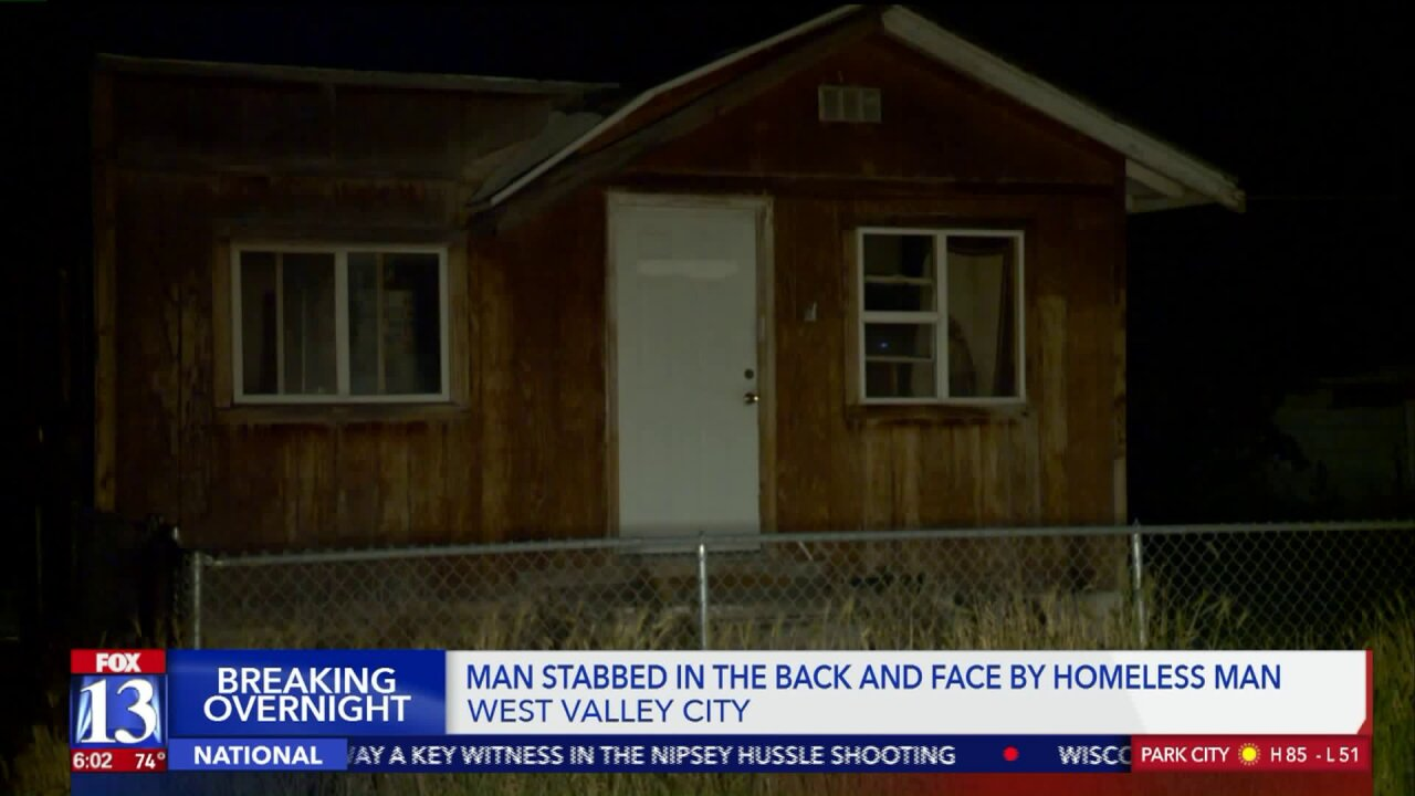 Police seek attacker after bucket toss leads to stabbing in West ValleyCity