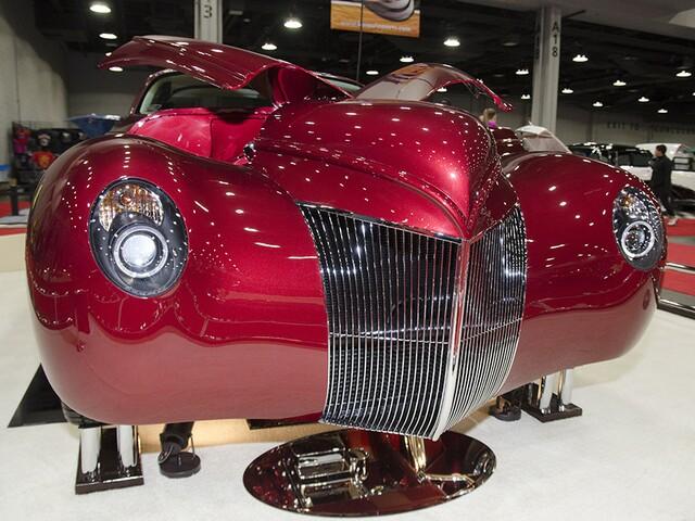 2018 Cavalcade of Customs car show in Ohio