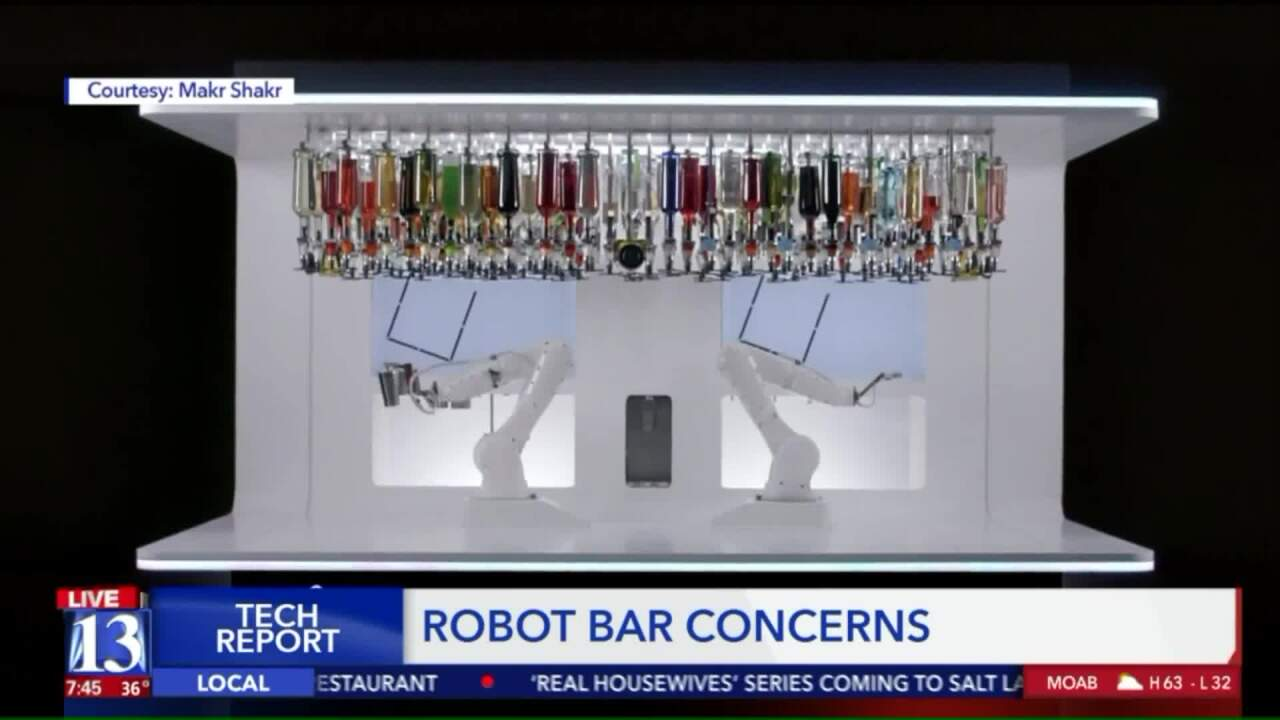 Utah businesses and the DABC express concerns about robotic bars