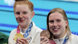 Lilly King uses choice words to call out critics unhappy with Team USA's silver and bronze medals