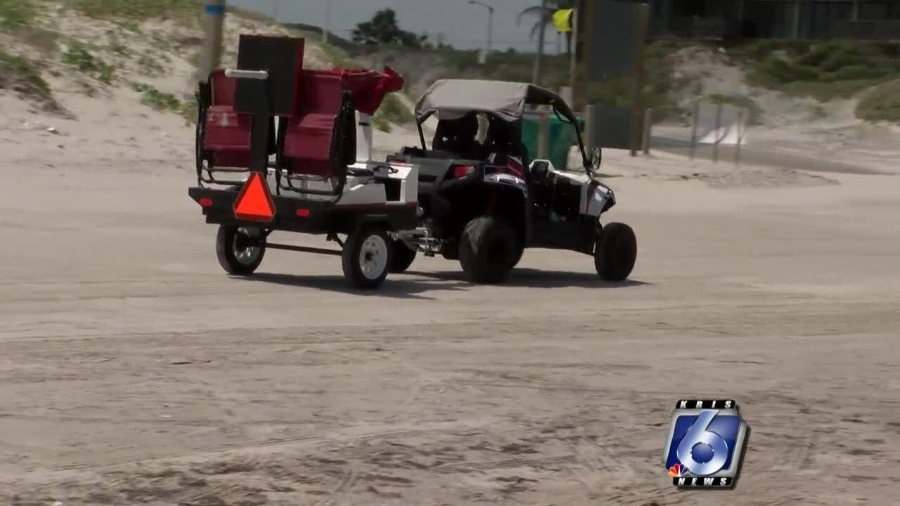 Vehicles allowed again at city beaches