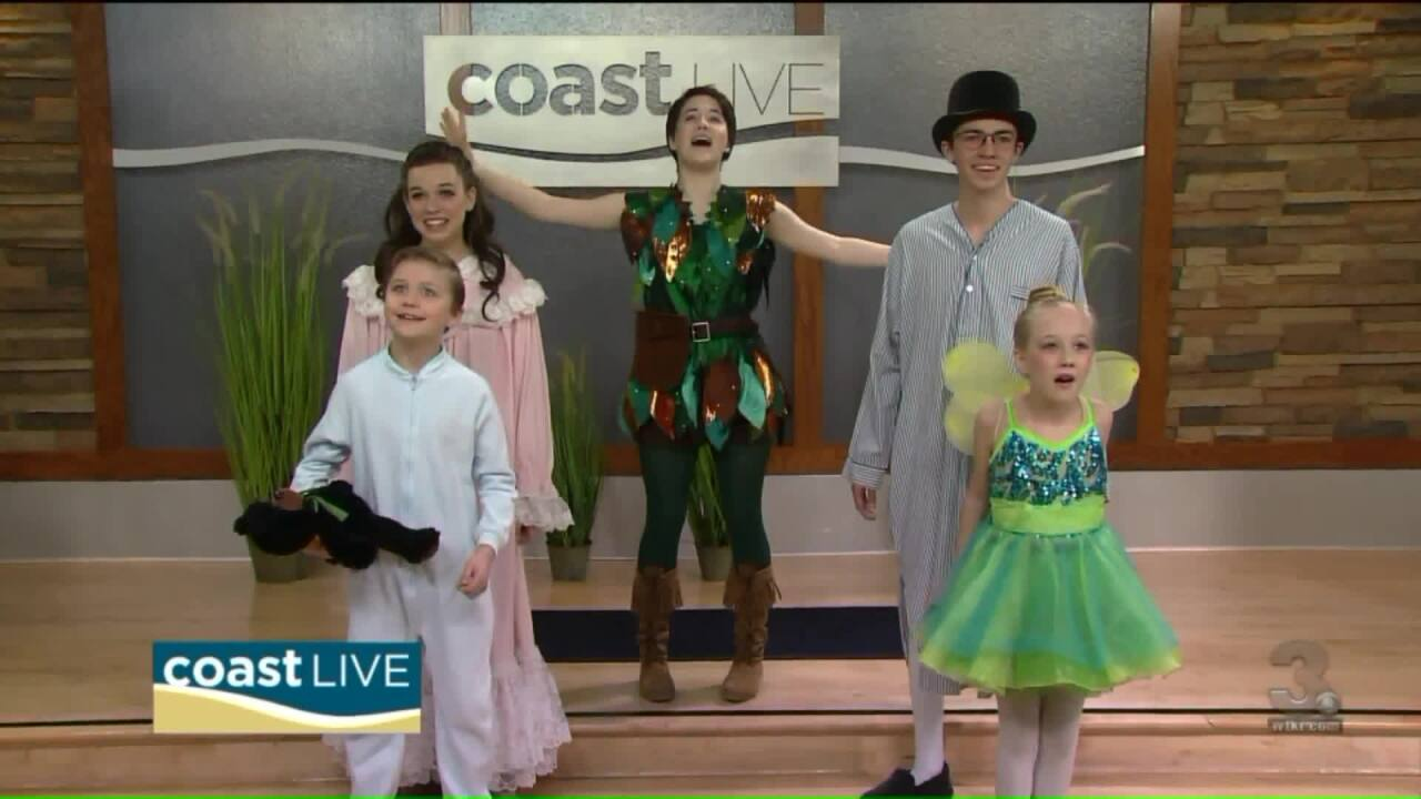 Sounds from Neverland as we preview The Hurrah Players' production of Peter Pan on Coast Live