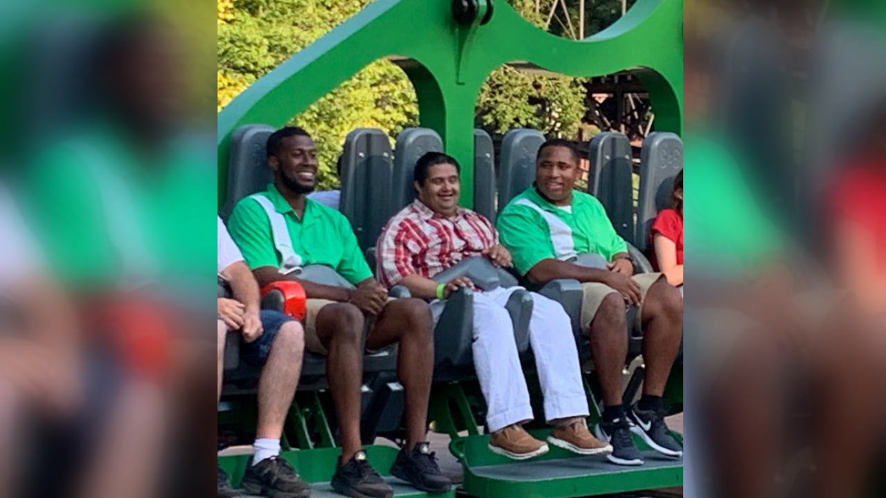 Sister thanks 'incredible' Busch Gardens employees who comforted brother with Downsyndrome