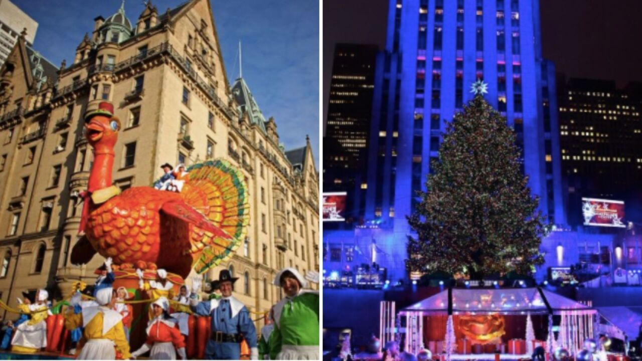 Manhattan Mayors Christmas Parade 2020 NYC holiday events, including Thanksgiving Day parade, Christmas