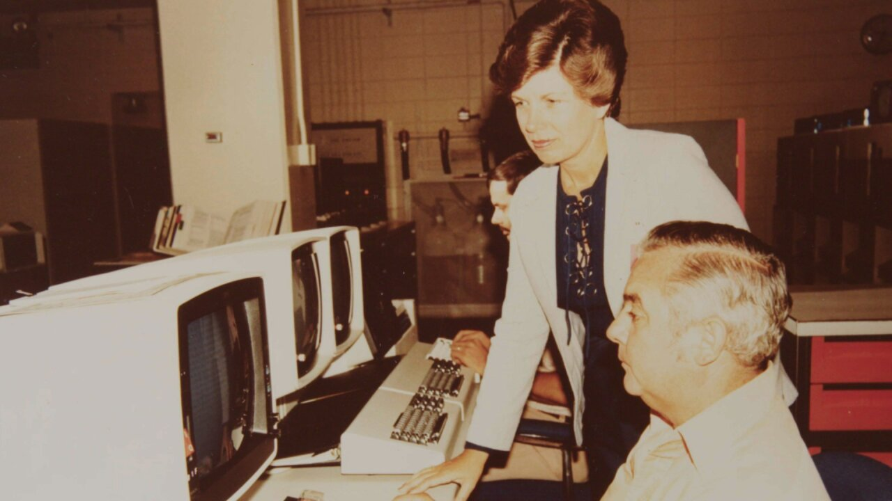 She endured obscene phone calls, had to use men's bathrooms, as one of NASA's first female engineers