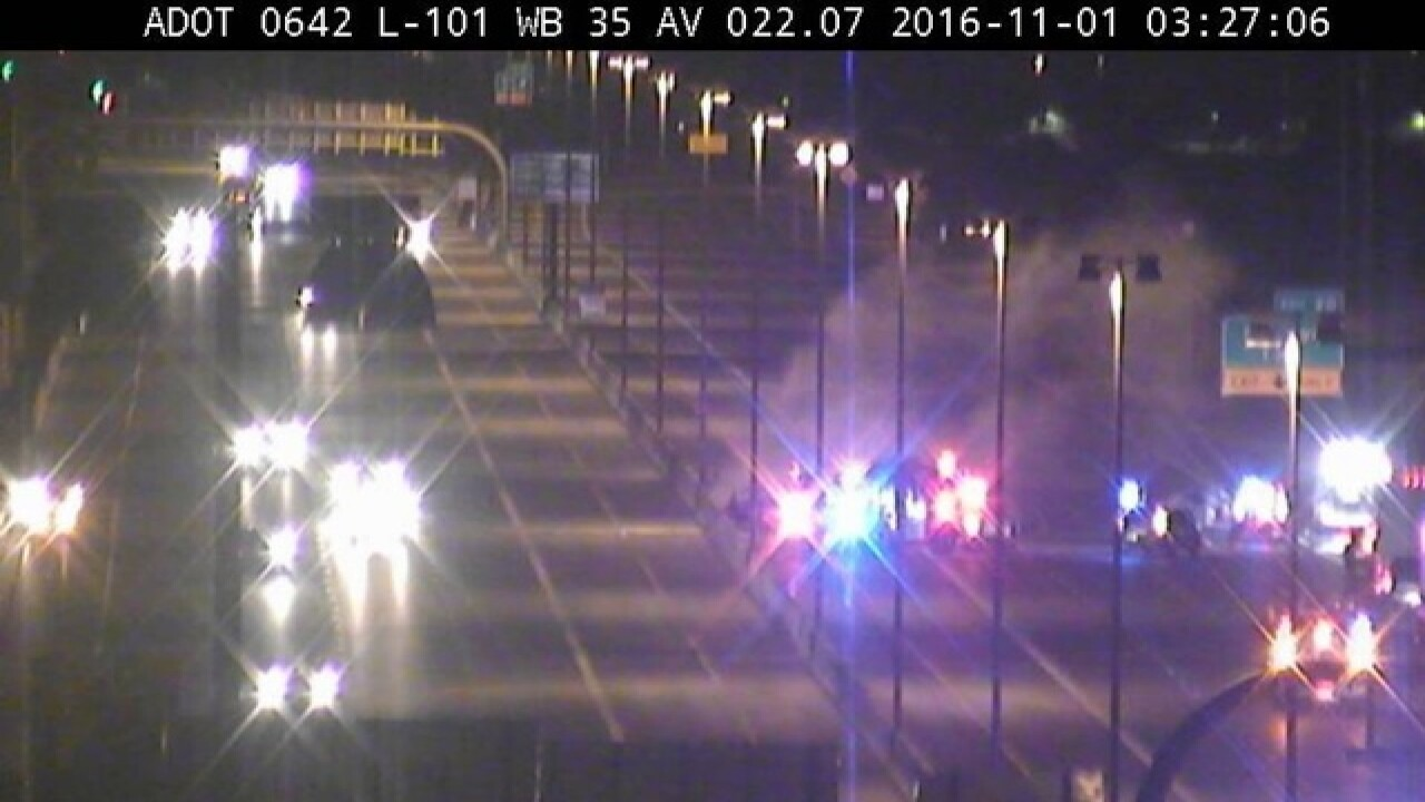 NOW: Two dead in crash at L-101, WB lanes closed
