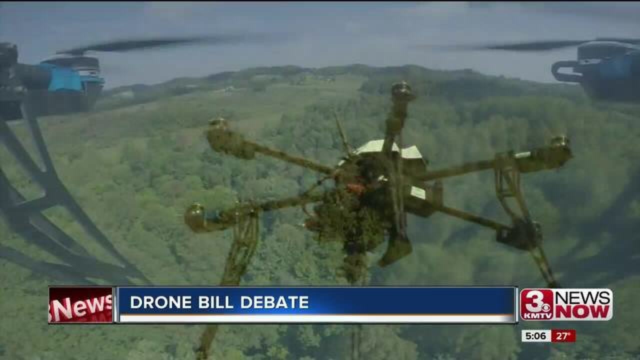 Legislature discusses bill on drones