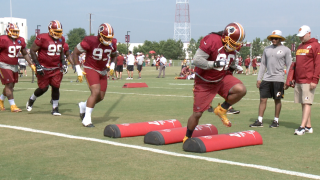 Redskins Training Camp: Day 3