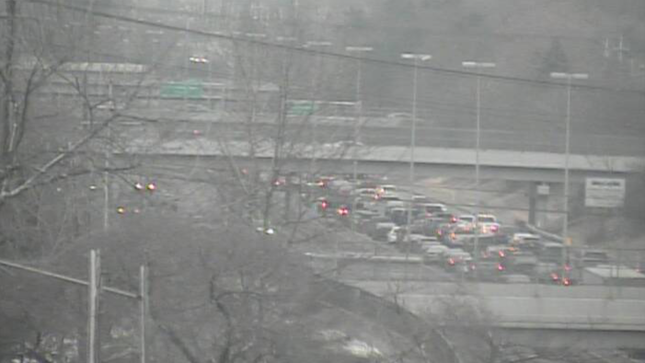 Crash causes 20-minute delay on I-90 Eastbound