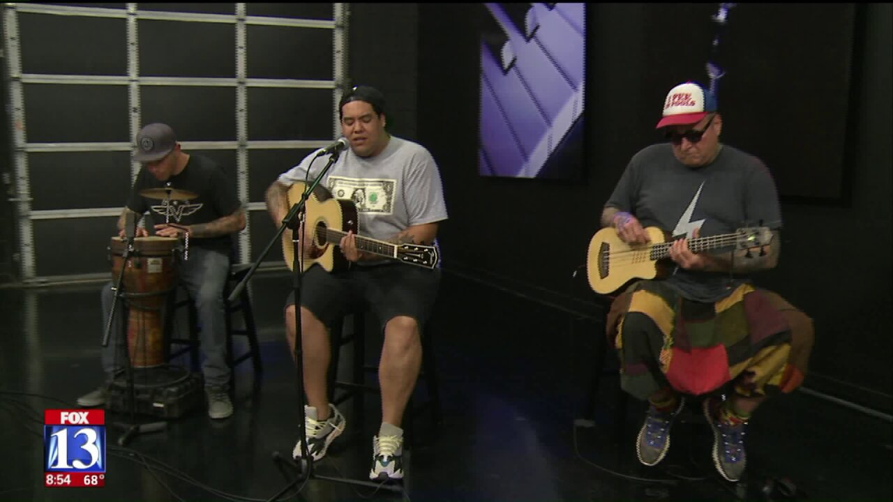 Sublime with Rome performs on Good Day Utah
