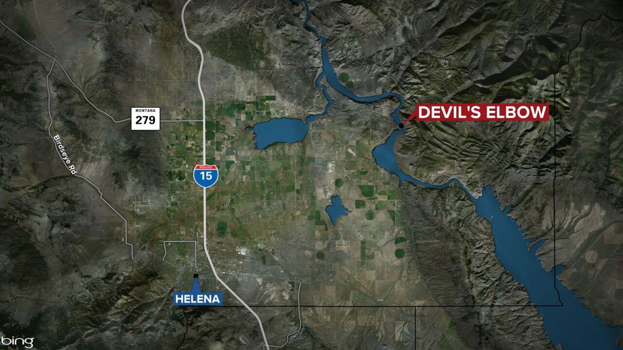 Devil's Elbow Map