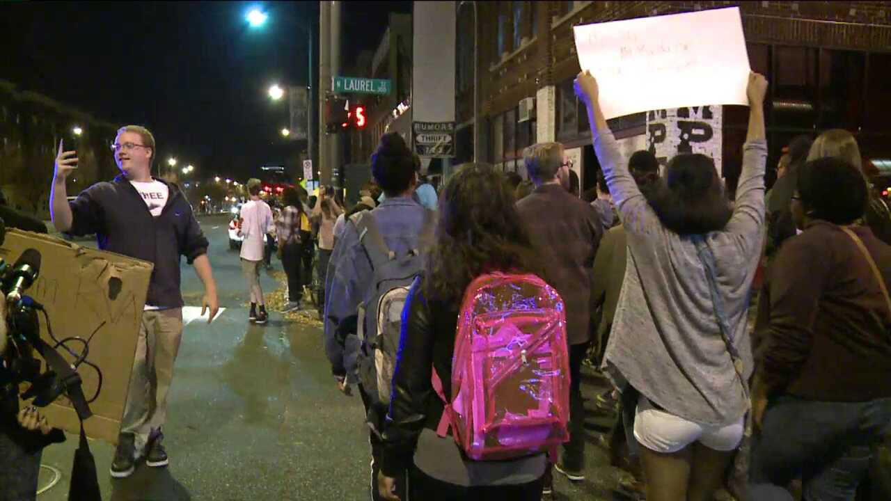 VCU students join nationwide protests in reaction to Ferguson decision