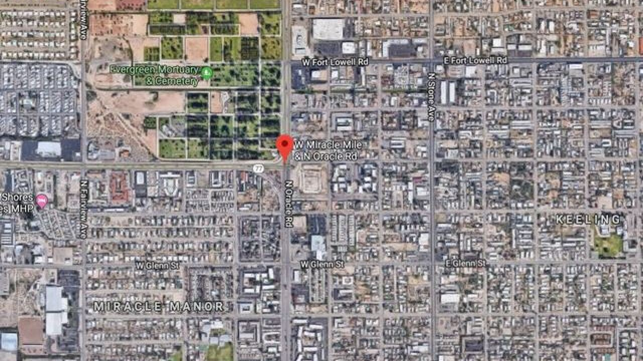 TPD: Body found near Oracle and Miracle Mile