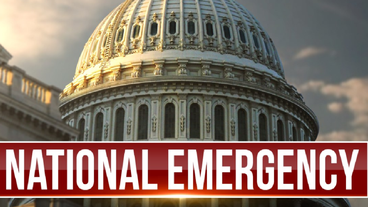 Image result for national emergency
