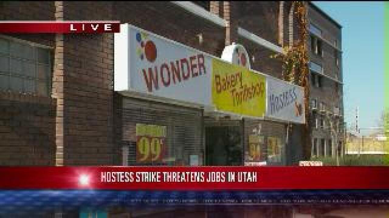 Hostess to liquidate if bakers' strike continues through Thursday