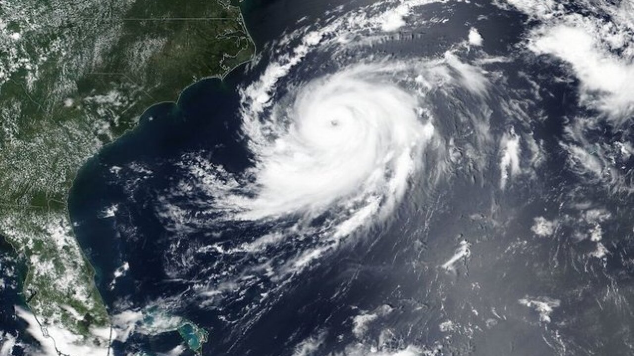 Hurricane Chris is rapidly strengthening